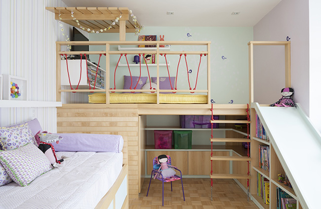 Two Twin Beds In A Small Room