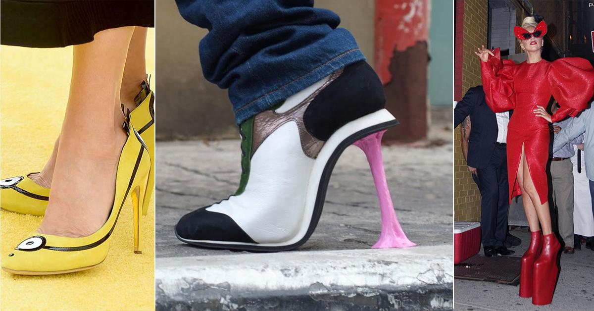 Os 10 sapatos mais bizarros de sempre