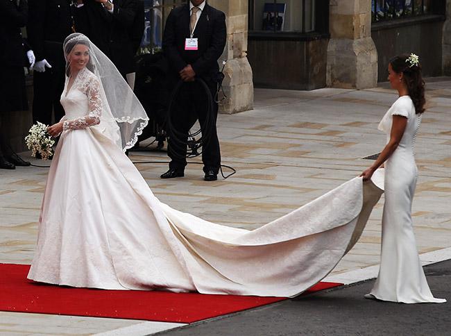 Vestidos de noiva de sonho, vestido da Princesa Kate Middleton