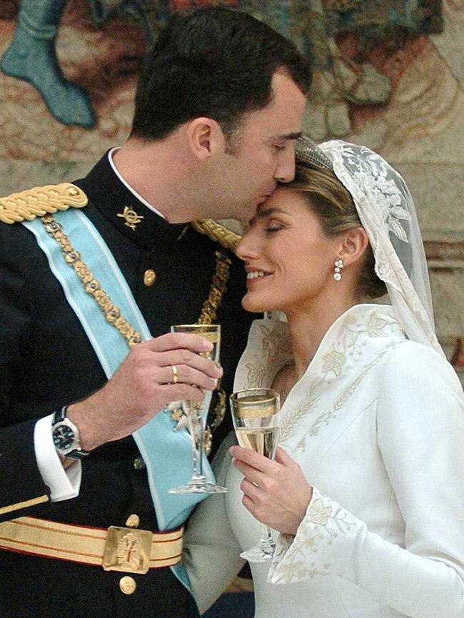 Vestidos de noiva de sonho, vestido da Princesa Letícia (Espanha)
