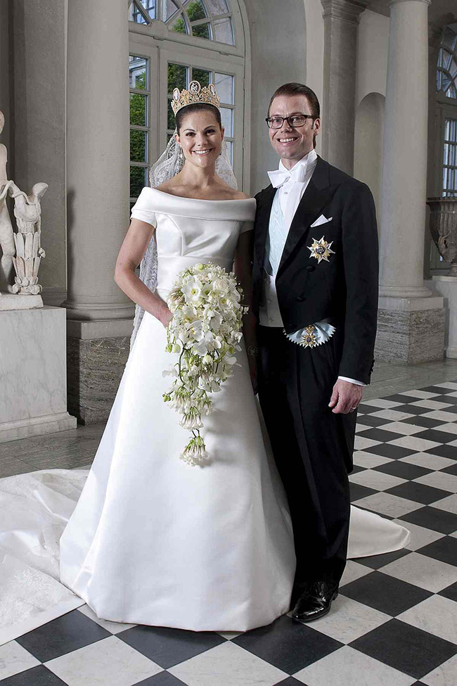 Vestidos de noiva de sonho, vestido da Princesa Victoria (Suécia)