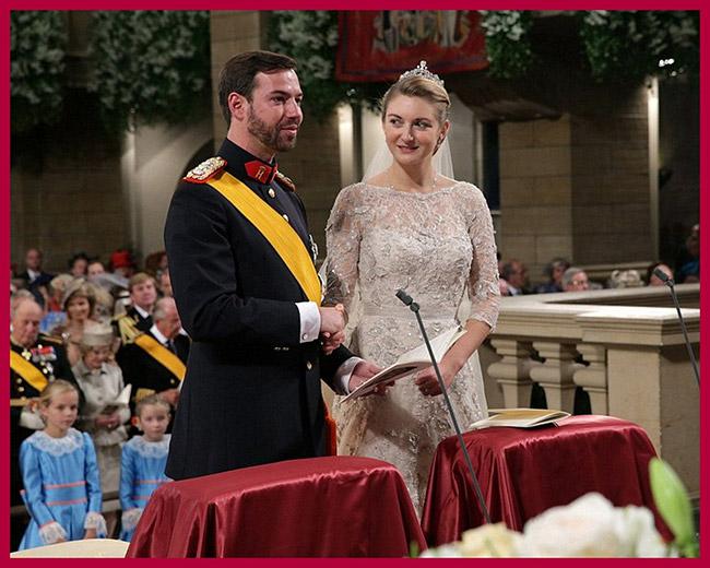 Vestidos de noiva de sonho, vestido da Condessa Stephanie (Luxemburgo)