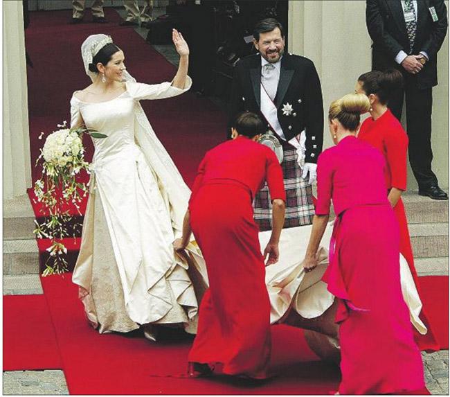 Vestidos de noiva de sonho, vestido da Princesa Mary (Dinamarca)