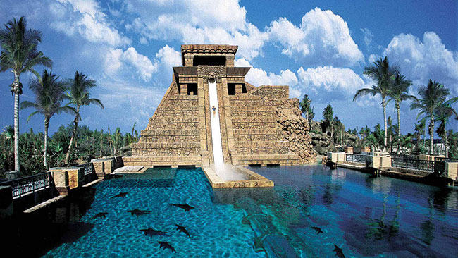 Parques aquáticos - AQUAVENTURE PARK, BAHAMAS