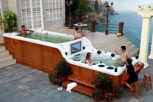 Banheiras de sonho - banheira de hidromassagem