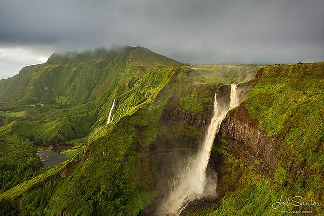 As cascatas mais deslumbrantes do mundo - Cascata da Ribeira Grande, Açores, Portugal
