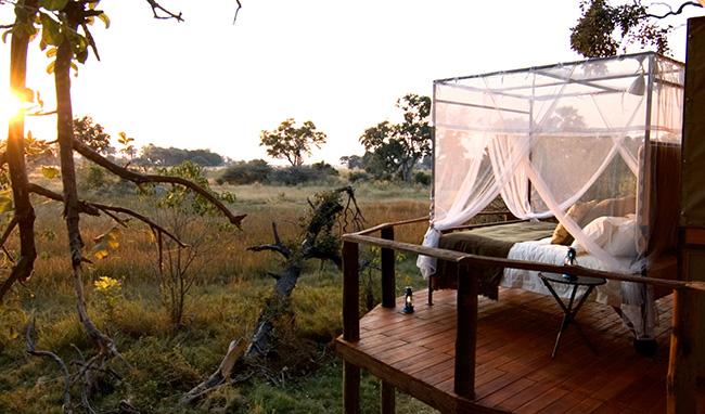 Dormir com as estrelas - BAINS' CAMP, BOTSWANA