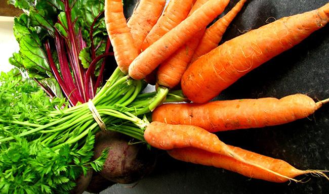 Frutos e vegetais que ajudam a manter a pele bronzeada - Cenoura