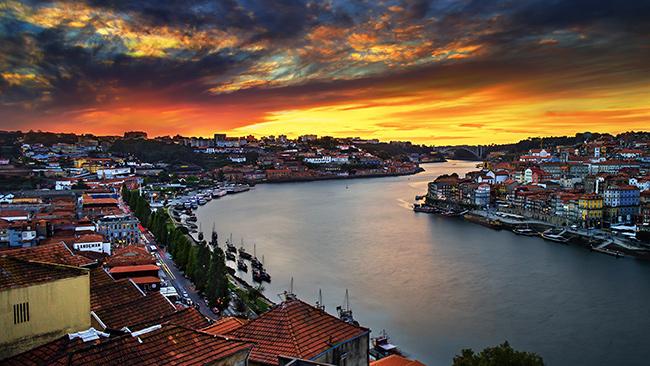 Os mais fantásticos pores do sol de Portugal - Rio Douro, Porto e Gaia