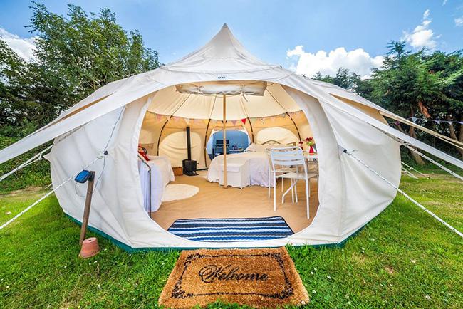 Tendas fenomenais para um verão inesquecível - tenda de família