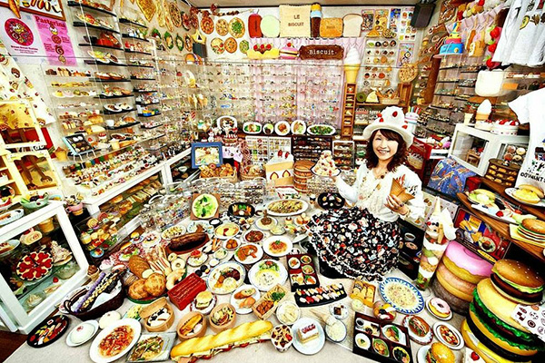 Coleções que o vão surpreender - Coleção de itens relacionados com comida