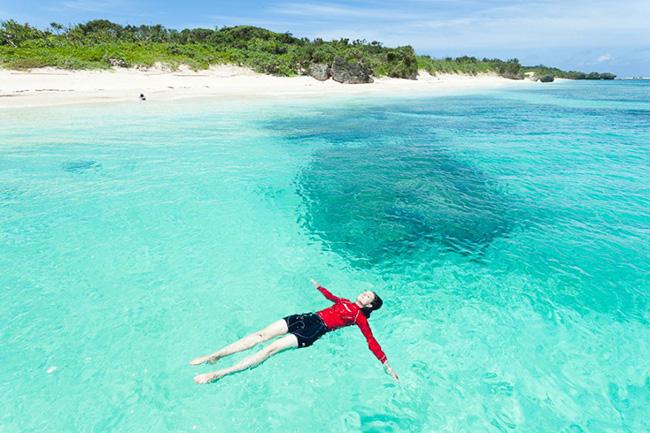 As águas mais cristalinas - 10 locais de sonho - Ilha Panari, Japão