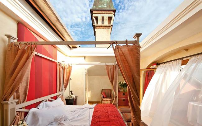 Dormir com as estrelas - L'ALBERETA ERBUSCO, ITÁLIA