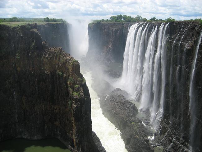 As cascatas mais deslumbrantes do mundo - Cataratas de Vitória, Zâmbia / Zimbábue