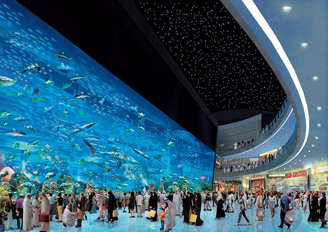 Os maiores do mundo: omaior shopping do mundo - Dubai Mall