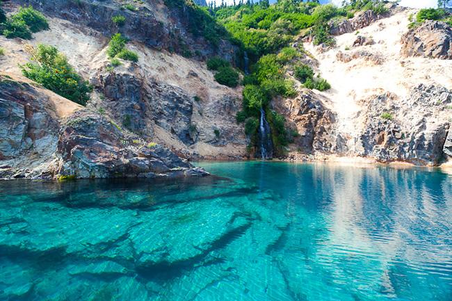 As águas mais cristalinas - 10 locais de sonho - Crater Lake, EUA