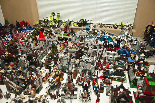 Coleções que o vão surpreender - Coleção de Lego
