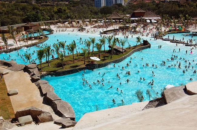 Parques aquáticos - HOT PARK, BRASIL