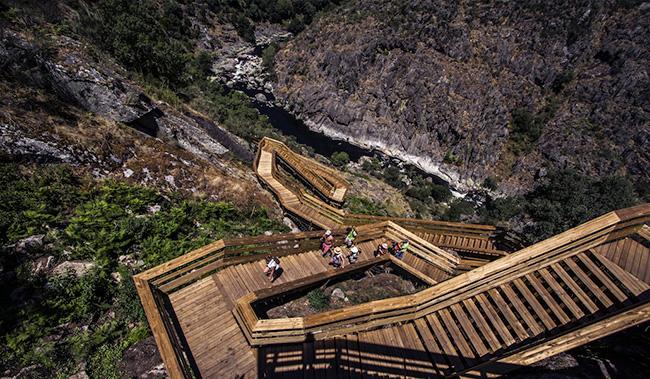 Passadiços em Portugal - Passadiços do Paiva