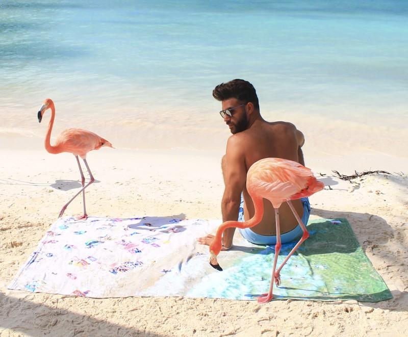 Toalhas de praia que não passam despercebidas - Toalha camuflada