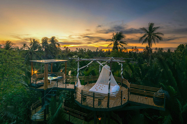 Dormir com as estrelas - BANGKOK TREE HOUSE, TAILÂNDIA