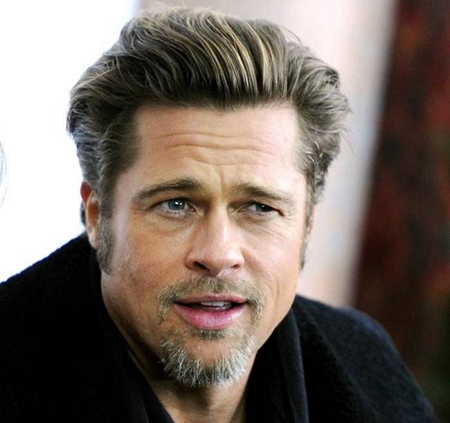 Reconhece estes famosos só pelo olhar? - Brad Pitt
