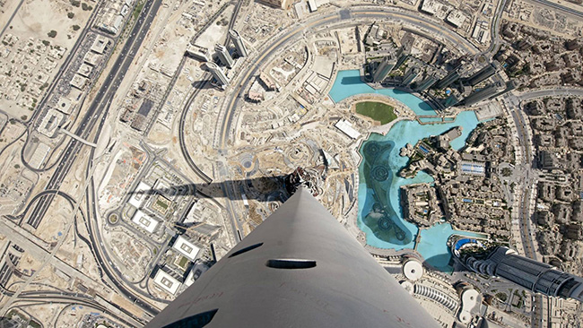Lugares que causam vertigens - BURJ KHALIFA, DUBAI