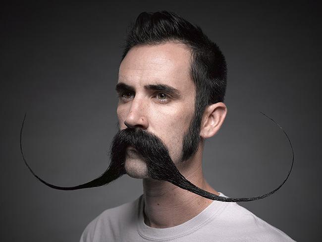 Bigodes de impor respeito - bigode em tamanho XXL