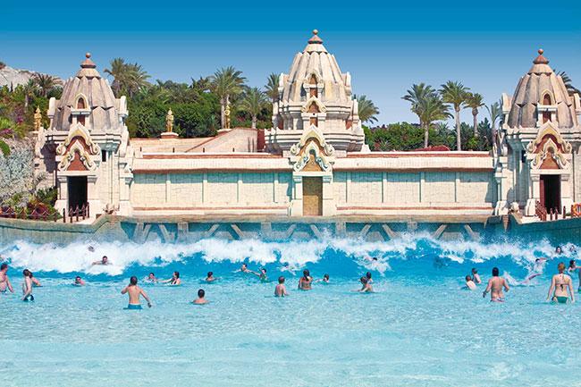 Parques aquáticos - SIAM PARK, ESPANHA