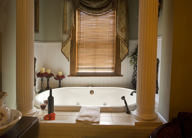 Banheiras de sonho - banheira romântica