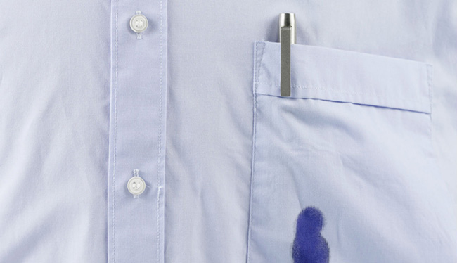 Dicas de limpeza - limpar manchas de tinta de caneta
