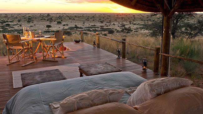 Dormir com as estrelas - TSWALU KALAHARI, ÁFRICA DO SUL