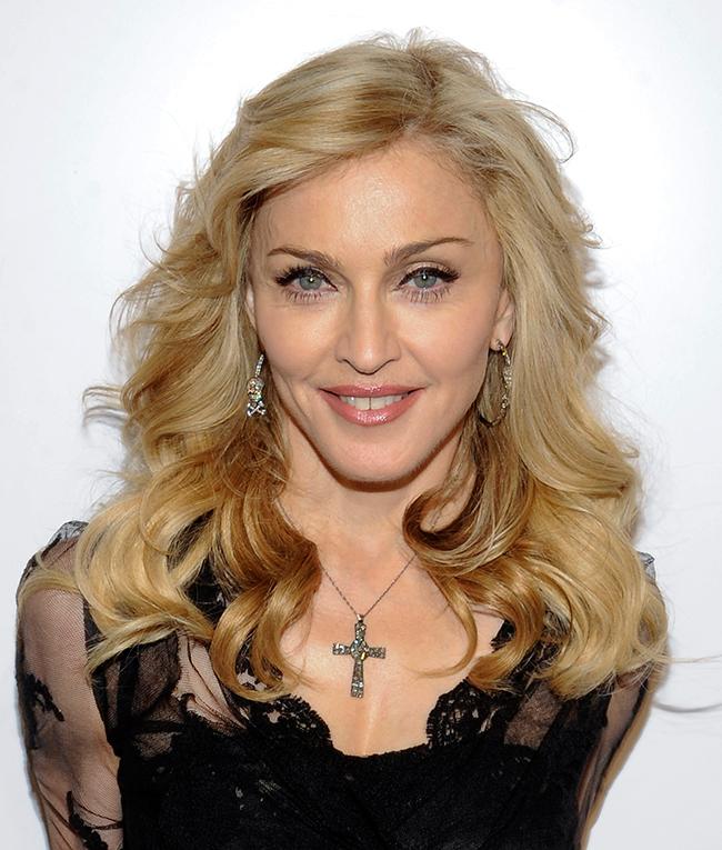 Reconhece estes famosos só pelo olhar? - Madonna