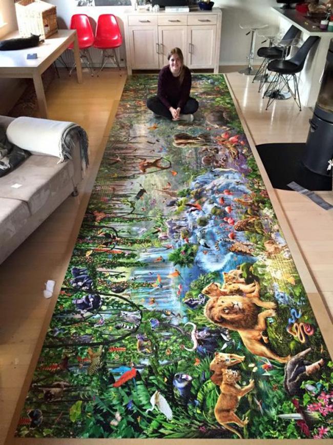 Os maiores do mundo: omaior puzzle do mundo