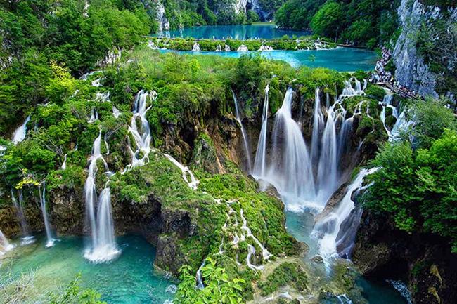As cascatas mais deslumbrantes do mundo - Cascatas de Plitvice, Croácia