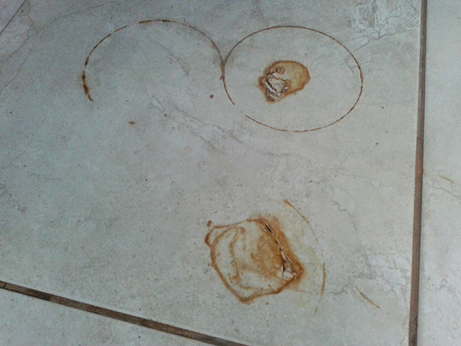 Dicas de limpeza - limpar manchas de ferrugem