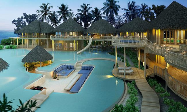 Dormir com as estrelas - SONEVA FUSHI, MALDIVAS