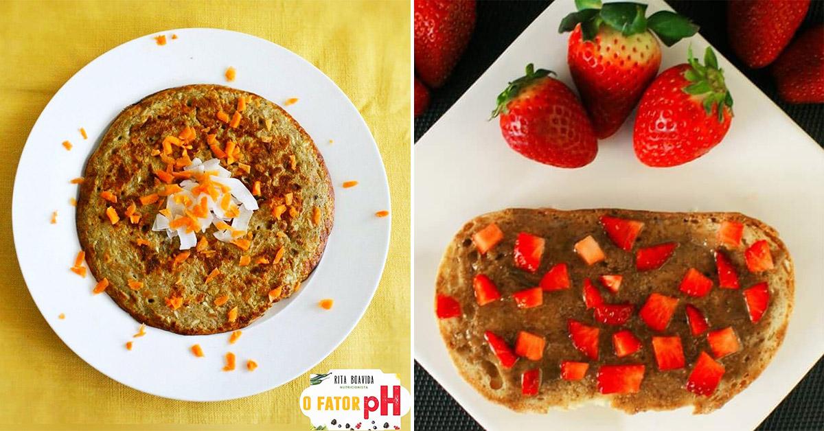 4 super pequenos almoços alcalinos, por Rita Boavida