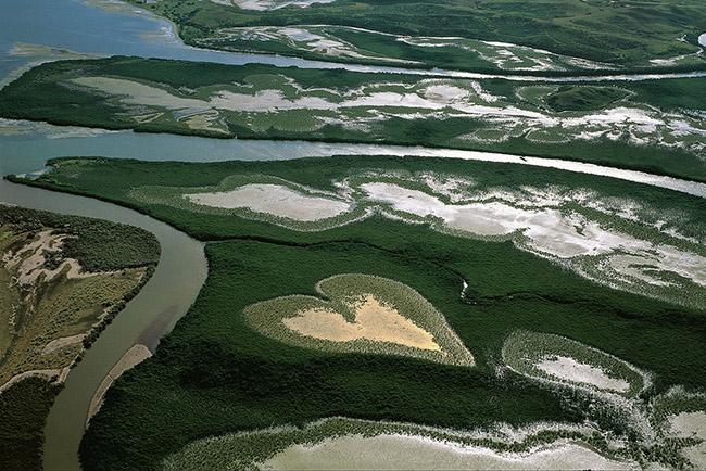 Paisagens espetaculares - foto de Yann Arthus-Bertrand , Nova Caledónia - Oceania