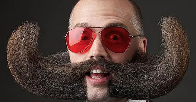 Bigodes de impor respeito - bigode áspero