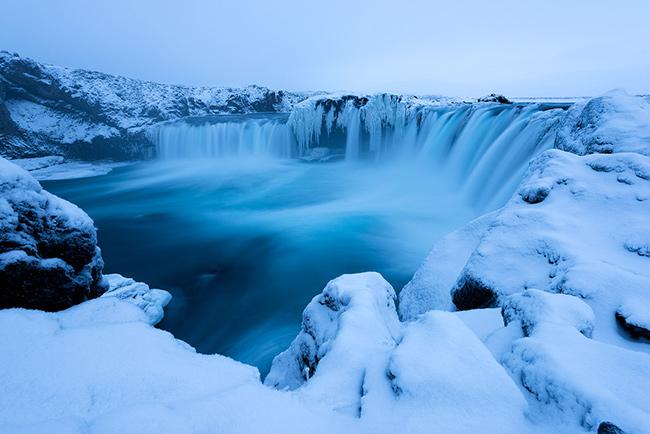 As cascatas mais deslumbrantes do mundo - Cascata de Godafoss, Islândia