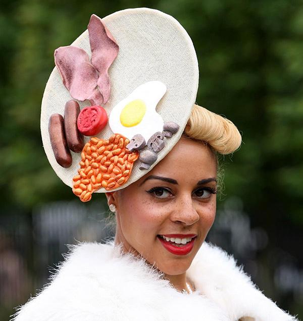 Chapéus loucamente originais - chapéu inglês