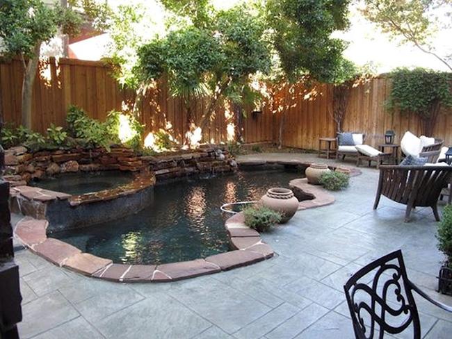 Piscinas de sonho - piscina tipo lago