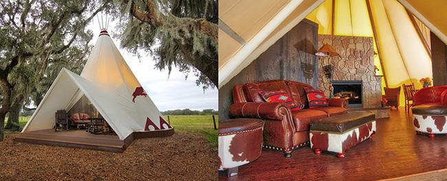 Tendas fenomenais para um verão inesquecível - tenda cabana de índios