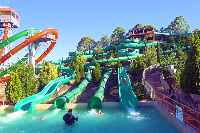 Parques aquáticos - WET N' WILD, AUSTRÁLIA