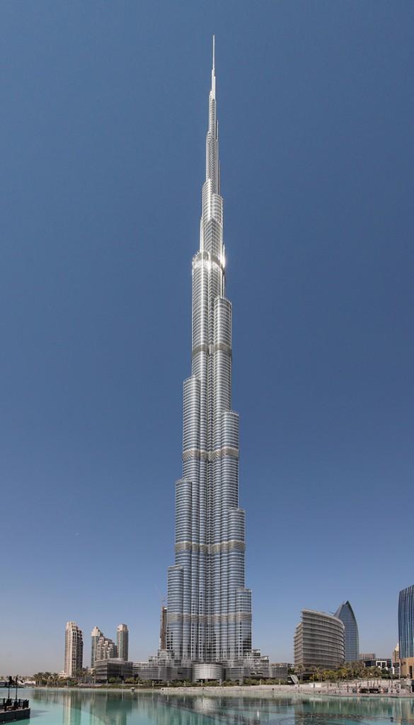 Os maiores do mundo: omaior edifício do mundo - Burj Khalifa