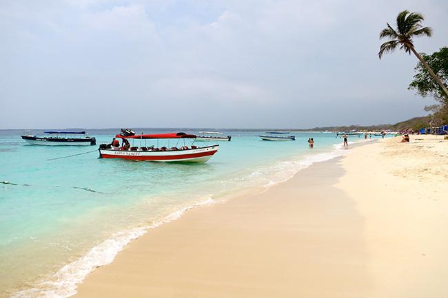 As águas mais cristalinas - 10 locais de sonho - Playa Blanca, Colômbia
