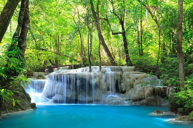 As cascatas mais deslumbrantes do mundo - Cascatas de Kanchanaburi, Tailândia