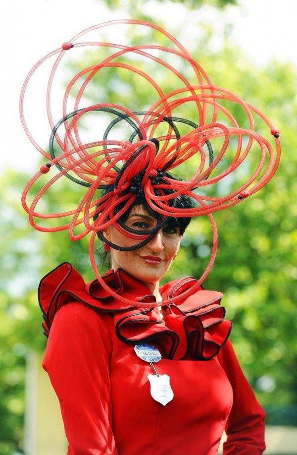 Chapéus loucamente originais - com joaninhas fica uma obra de arte