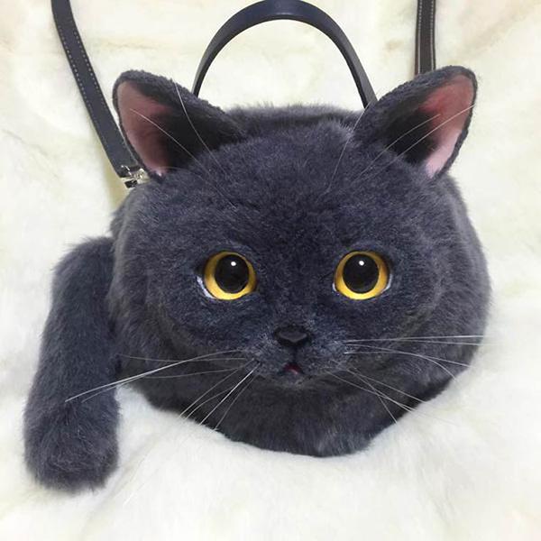 Malas loucamente criativas - mala gato